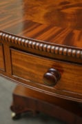 William IV Revolving Drum Table in Mahogany