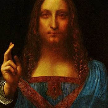 Salvator Mundi Painting