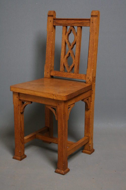 Late Victorian Oak Child's Chair