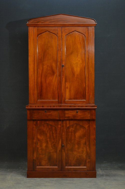 Slim and Elegant William IV Bookcase