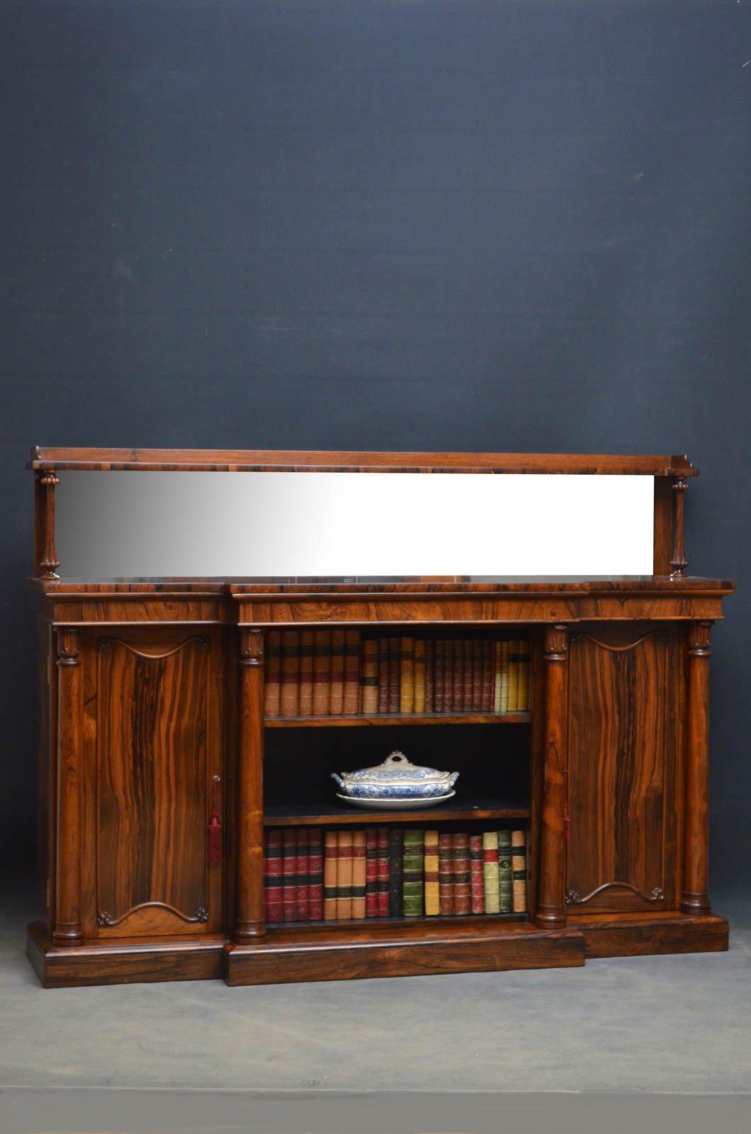 Regency Rosewood Sideboard