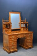 Exhibition Quality Olivewood Dressing Table by Maple