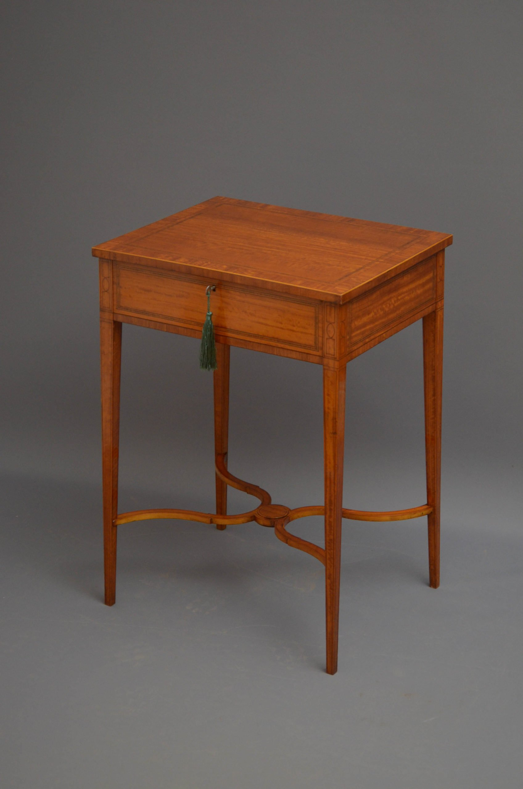 Turn of the Century Satinwood Table