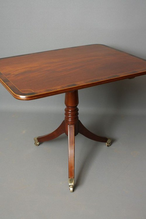 Regency Pedestal Table