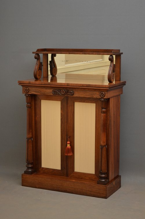 William IV Rosewood Chiffonier – Sideboard