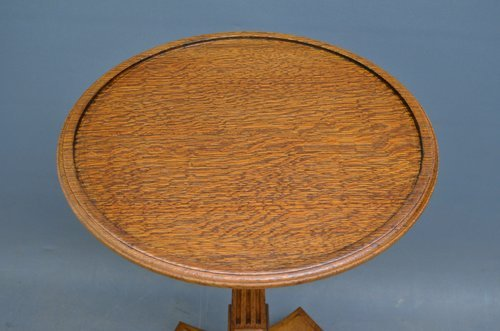 Stylish Victorian Oak Table